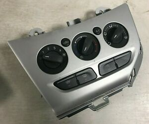 Ford Focus Climate Heater Controls Switches A/C Aircon 2011-2014 MK3 Fascia Grey