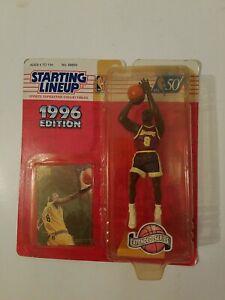 1996 Starting Lineup Kobe Bryant Rookie Figure + Rookie Card - Kenner