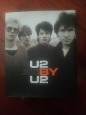 u2 by u2 book signed by bono gold pen beckett coa
