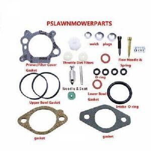 Carburetor kit for Briggs & Craftsman Quantum 3.5, 4, 5, 6.0 and 6.5hp 498260