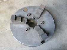 De Whiton Machine 3 Jaw Independent Heavy Duty Lathe Chuck South Bend Atlas