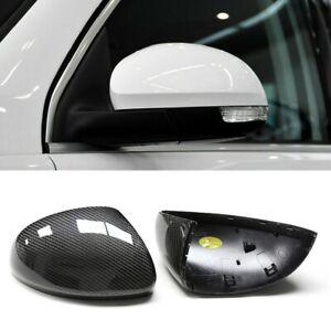 For Volkswagen VW Tiguan 07-16 Carbon Fiber Rear-view Mirror Cover Housing Caps