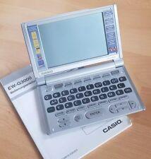 CASIO EW-G3000 Elekt. Wörterbuch Dt./Italienisch/ Spanisch/ Französisch/ Engl.