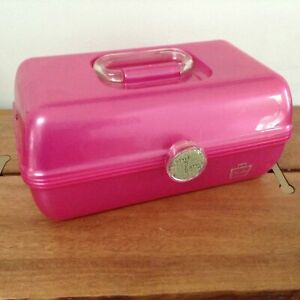 Caboodles On The Go Organizer Makeup Case Hot Pink Two Tier Own Your Style