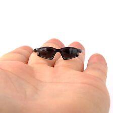"12"" Head Figure Model Toys 1/6 Scale Hot Black Sunglasses Glasses Goggles"
