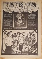 Kokomo  1975 press advert Full page 28x 39 cm poster