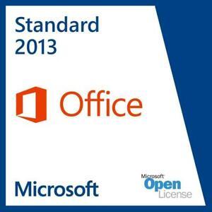 Microsoft Office Standard 2013 - Deutsch