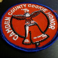 Camden County Cookie Honor Patch 1976