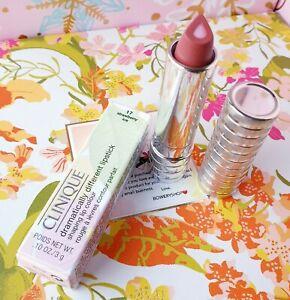Clinique Dramatically Different Lipstick Shaping Lip Color 17 Strawberry Ice NIB