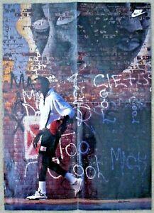 "Vintage 1989 MICHAEL JORDAN Wheaties Nike 16"" x 23"" Poster CHICAGO BULLS"