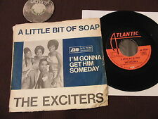 "7"" Single The Exciters A little bit of soap I'm gonna Ger. 60s 