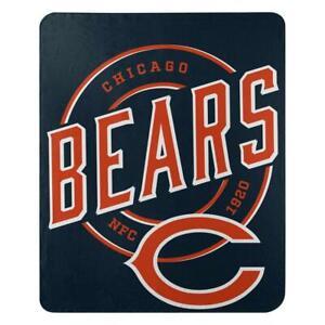 Chicago Bears Fleece Throw Blanket