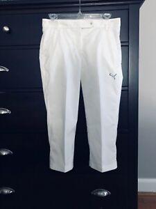 White Puma Golf Pants- Size 0