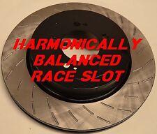 Fits Mustang GT500 Boss 302 GT Base Harmonically Balanced Race Slot Rotors Rear