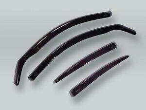 HEKO Wind Deflectors Rain Guards 4pcs Set fits 2002-2010 VW Touareg
