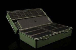 Ridge Monkey Armoury Tackle Box Pesca de Carpa Anzuelo
