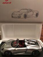 1:18 Spark Porsche 918 Spyder SILVER
