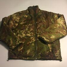 Mil-Tec Mens Reversible Thermal camo camouflage green Full Zip Sz M Mil Tec