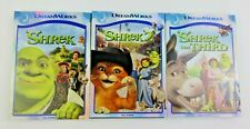Works Great! Shrek 1 2 3 Trilogy Dvd Collection Bundle Lot The Third Mike Myers