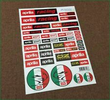 aprilia Factory Racing Motorcycle Laminated Decals Sticker Kit Nice Look Ducati