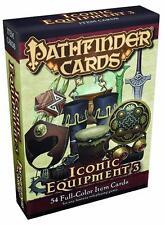 Pathfinder Cards Iconic Equipment 3 Item Cards Deck by Paizo Publishing PZO 3050