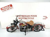 Danbury Mint 1938 Indian Four Motorcycle 1/10 Scale Replica w/ Box