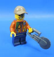 LEGO CITY 60155/JUNGLA FIGURA CON FLEX