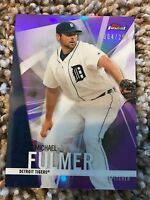 Michael Fulmer Tigers 2017 Topps Finest PURPLE REFRACTOR #d 4/250