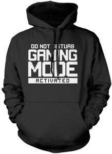 Do Not Disturb Gaming Mode Activated Unisex Hoodie gamer console cod