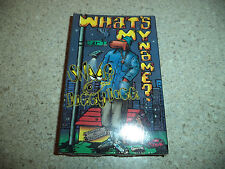 SNOOP DOGGY DOGG What's My Name Cassette Single 1993 Rap Hip-Hop SEALED Remix