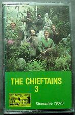 Chieftains 3 (Cassette, 1987, Shanachie) NEW