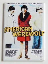 An American Werewolf in London (Germany) Fridge Magnet (2.5 x 3.5 inches)