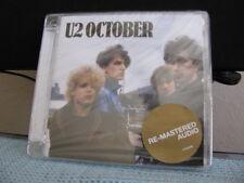 U2 CD October Sealed Argentina Promo, Remaster.