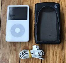 New ListingApple iPod A1136 Classic 5th Generation White (60 Gb) Black Line On Screen