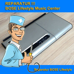 Reparatur BOSE Lifestyle Model 5 Music Center, Hi-Fi, Receiver, CD Player