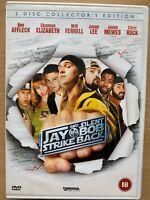 Jay e Silenzioso Bob Strike Back DVD 2001 Cult Commedia Film Film 2-Discs