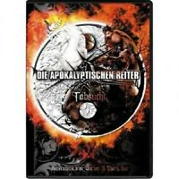"""DIE APOKALYPTISCHEN REITER """"TOBSUCHT (LIVE)..."""" DVD NEU"""