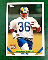 1993 Topps #604 Jerome Bettis RC - Rams NM