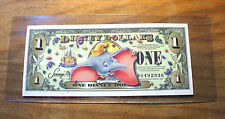 """2005 Disney Dollar - DUMBO - NO BARCODE - Mint Condition - """"D"""" Series"""