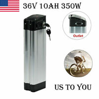 US 36V 10AH E-bike Lithium Li-ion Battery for Electronic Bicycle Top Discharger