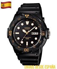 Reloj CASIO Hombre ORIGINAL MRW-210H-1A2VEF Analógico Correa Resina