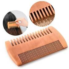 For Beard & Hair Comb Men's Mahogany Wooden Wood Dual-Sided Pocket Comb .M