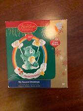 2006 My Second Christmas Care Bear Ornament Carlton Cards American Greeting Box