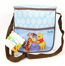 NEW Official Disney Winnie the Pooh & Friends Baby Blue Small Diaper Bag - NWT