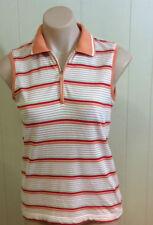 Basic Tees Striped Sleeveless T-Shirts for Women