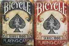 Bicycle Marked Vintage 1800 Playing Cards 2 Deck Set - Limited Edition - SEALED