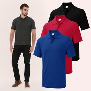 UX1 POLO by Uneek - Men's Unisex Polo Shirt - Size XS to 6XL - 10 Colours