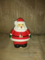 Vintage Santa Claus Night Light COVER ONLY Christmas Plastic Xmas VTG Decoration
