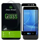 Dmax Armor for HTC U11 Life Tempered Glass Full Cover Screen Protector -Black
