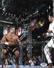 Kimo Leopoldo Signed UFC 3 8x10 Photo PSA/DNA COA Royce Gracie Picture Autograph